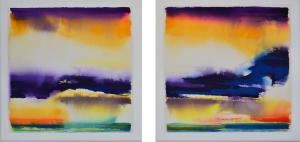 """""""Giving Thanks"""" series<br />30 x 62 <br />$5,800"""
