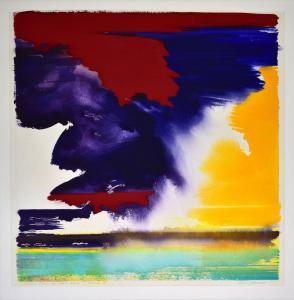 """""""Come rain or come shine"""", loving it<br />38 x 38<br />$3,900"""