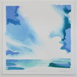 """Clouds"" #4 July 2013<br /> 34 X 34<br />$3,350"