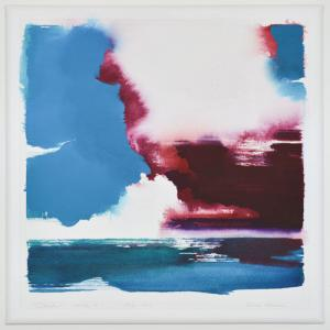 """""""Clouds"""" series #1 July 2013<br />30 X 30<br />$2,900"""