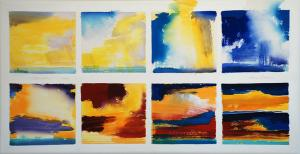 'Sky Watching'<br />Series<br />28 X 54<br />$4,500