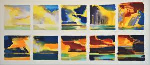 'Sky Watching' Series<br />24x54<br /> $3,900