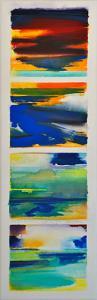 'My Blue Heaven' [vertical]<br />54 X 18<br />$3,200