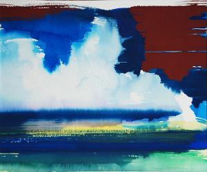"""#1 Watercolor <br /> 20""""x24""""<br /> $1300"""