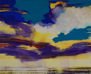 """#3 Watercolor<br /> 20""""x24""""<br /> $1300"""