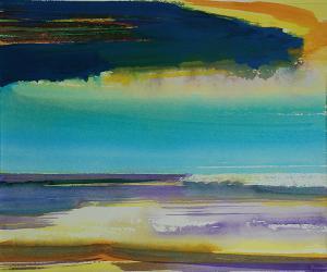 """#5 Watercolor<br /> 20""""x24""""<br /> $1300"""