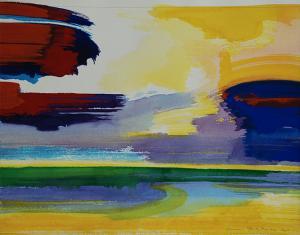 """#7 Watercolor<br /> 20""""x24""""<br /> $1300"""