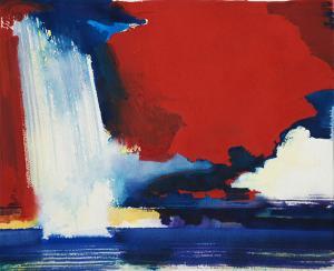 """#10 Watercolor<br /> 20""""x24""""<br /> $1300"""