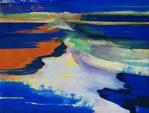 """#11 Watercolor<br /> 20""""x24""""<br /> $1300"""