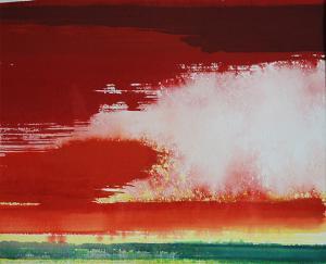 """#14 Watercolor<br /> 20""""x24""""<br /> $1300"""