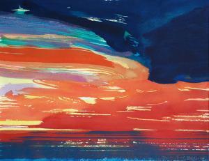 """#15 Watercolor<br /> 20""""x24""""<br /> $1300"""