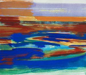 """#17 Watercolor<br /> 20""""x24""""<br /> $1300"""