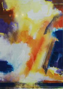 """#21 Watercolor<br /> 20""""x24""""<br /> $1300"""