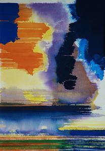 """#22 Watercolor<br /> 20""""x24""""<br /> $1300"""