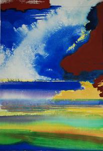"""#23 Watercolor<br /> 20""""x24""""<br /> $1300"""
